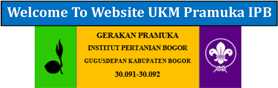 Welcome to website UKM Pramuka IPB